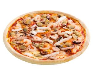 Pan Pizza Meeresfrüchte