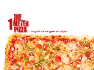1 Meter Pizza Margherita