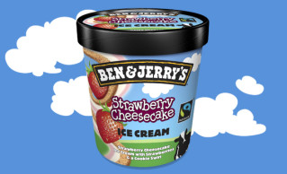 Ben & Jerry's Strawberry Cheesecake 150ml
