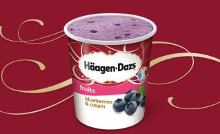 Häagen-Dazs Blueberries & Cream 100ml
