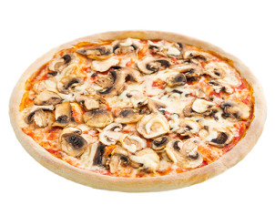 vierneunzig Pizza Champignon
