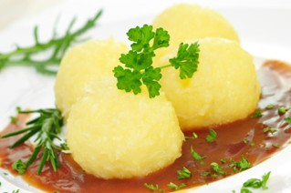 Portion Reibeknödel