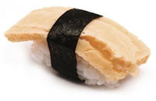 Tamago Nigiri mit japanischem Omelett