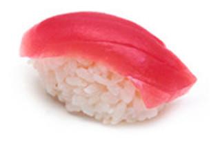 Nigiri mit Thunfisch