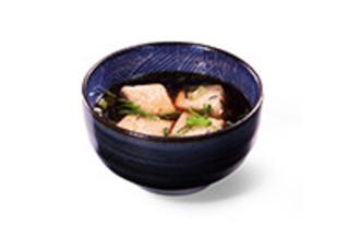 Agedashi Dofu frittierter Tofu in Dashi Brühe