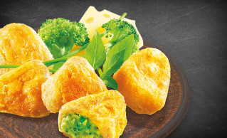 Broccoli-Cheese Nuggets (9 Stück)