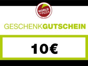 WOP-Geschenkgutschein im Wert von 10 Euro