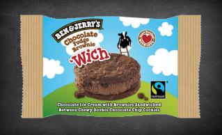 Ben & Jerry's Chocolate Fudge Brownie 'Wich