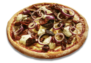 Rhodos thin crust L
