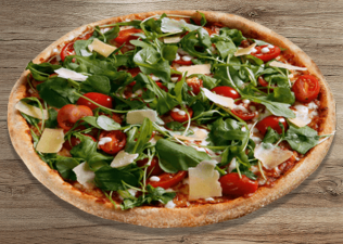 Rucola thin crust L
