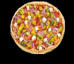 Pizza Rinder Stich L