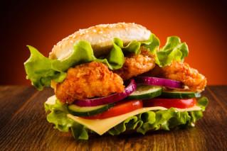 Devil Chicken Burger