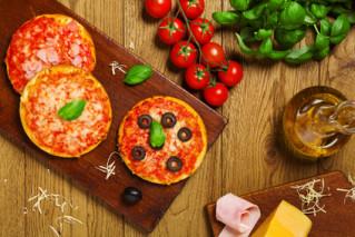 Kid's Pizza Schinken