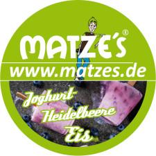 Matze's Joghurt-Heidelbeeren Eis