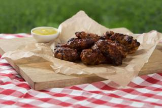 BBQ Chicken Wings 12 Stück
