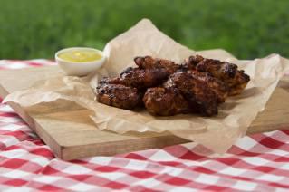 BBQ Chicken Wings 6 Stück