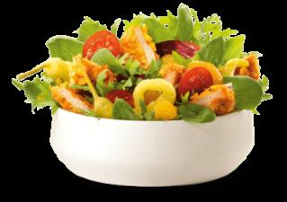 Crunchy Chicken Salade groot
