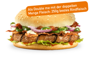 X-treme Burger Double me