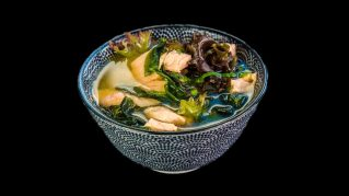 1a - Miso Supe mit Lachs