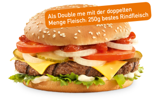 Cheese Burger Double me