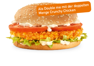 Crunchy Chicken Double me