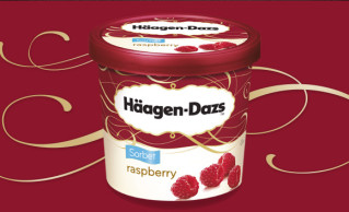 Häagen-Dazs Raspberry Sorbet 100ml