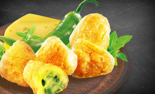 Chili-Cheese Nuggets (12 Stück)