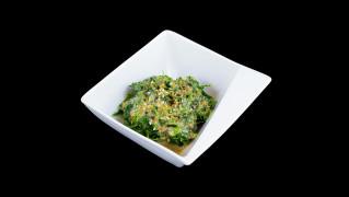 5aa- Spinat Salat mit Sesam-Dressing