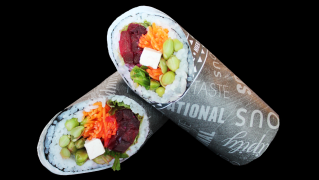 121 - Ganzer Veggy Burrito