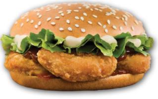 477. Chicken Nuggets Burger