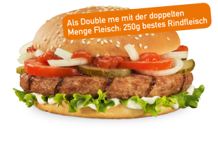 Hamburger Double me