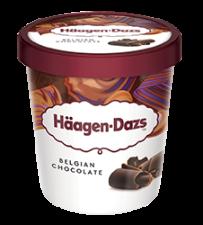 Haagen-Dazs Belgian Chocolate 100ml
