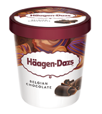 Haagen-Dazs Belgian Chocolate 460ml