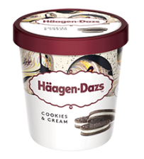 Haagen-Dazs Cookies & Cream 100ml