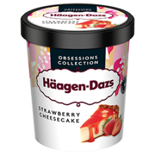 Haagen-Dazs Strawberry Cheesecake 100ml