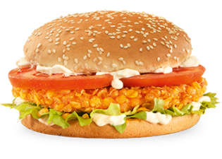 Crunchy Chicken burger (Double-Me)