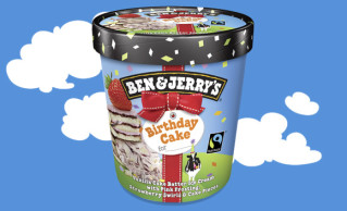 Ben & Jerry's Birthday Cake 500ml
