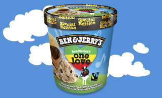 Ben & Jerry's Bob Marley's One Love 500ml