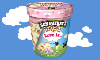 Ben & Jerry's Topped Love Is.. 470ml