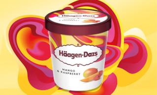 Häagen-Dazs Mango & Raspberry 100ml