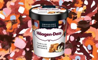 Häagen-Dazs Vanilla Caramel Brownie 95ml