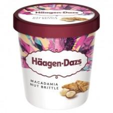 Häagen Dazs Eis Macadamia Nut Brittle 460ml