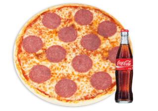 Back 2 School Menü Pizza