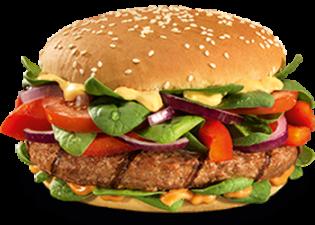 Curry-Peanut burger