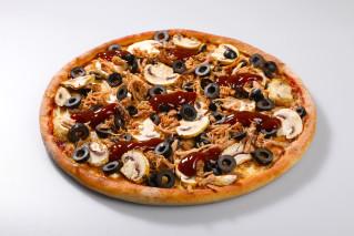 Pizza Olivia Pulled Pork mini + Tzaziki