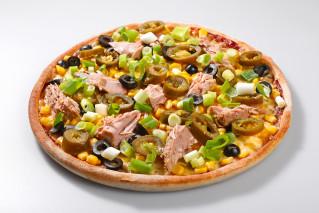 Pizza Olivia Tuna mini + Tzaziki