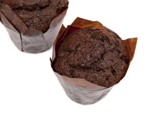 Schoko Nougat Muffin