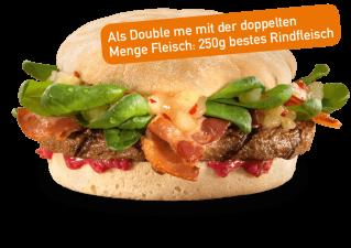 Spicy Chutney Burger Double me