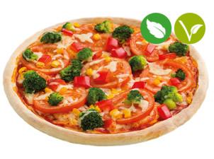 Dinkel Vollkorn Pizza Gemüsebeet vegan