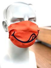 Smiley Mund und Nasenmaske